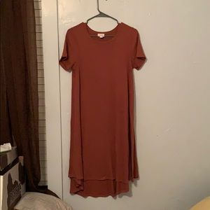 Lularoe Carly sweater dress